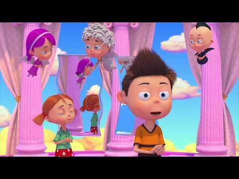 Ангел Бэби - Зеркало жизни - Развивающий мультик для детей (11 серия)