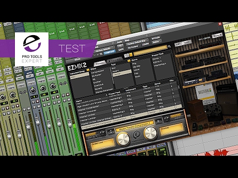 Mixing With EZmix 2 By Toontrack - 15 Minute Mix Challenge