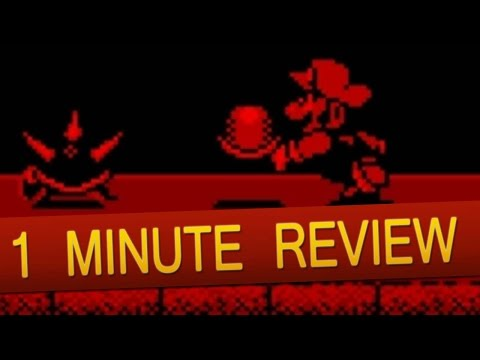 Virtual Boy - Mario Clash (1 Minute Review)