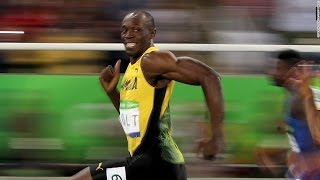 Usain Bolt declares himself 'the greatest' after third straight Olympic 200m gold