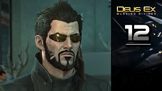 Deus Ex Mankind Divided Gameplay Walkthrough Part 12 covers Side Mission SM05 Samizdat on PC PS4 Xbox One Stealth gameplay no commentary Lets