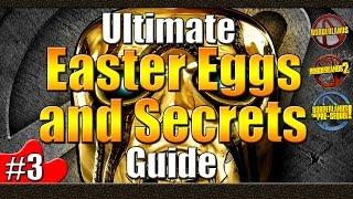 Borderlands | Ultimate Easter Egg and Secrets Guide | #3 | 5th Element | Dark Souls | Ned Kelly