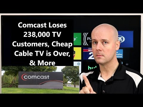 CCT # 175 - Comcast Loses 238,000 TV Customers, Cheap Cable TV Is Over, & More