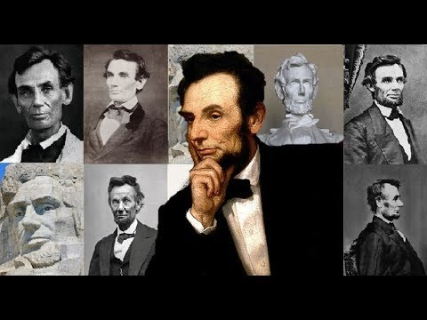 DONALD TRUMP Presidential Election 2017 tribute to USA Presidents Abraham Lincoln GOP