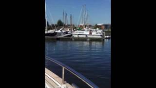 Maiden trip with the DutchCatTwelve hybrid motor catamaran