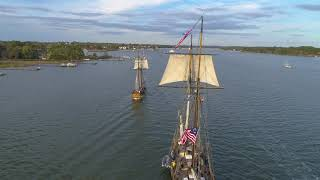Downrigging Weekend Tall Ships Parade Home