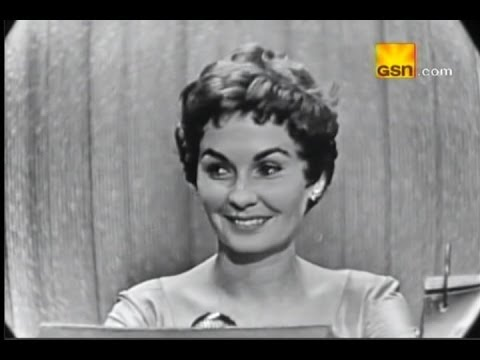 What's My Line?  Florence Chadwick; Jean Simmons Oct 30, 1955