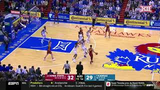 Kansas vs Iowa State Men's Basketball Highlights