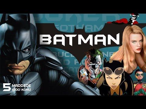 Batman Hakkında 5 Bilinmeyen Ve Fazlası