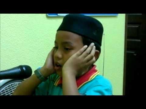 Amnan Azan Asar di Masjid al-Azim (Masjid Negeri Melaka) Semasa Ihtifal KAFA Pgkt. Keb 2012.wmv