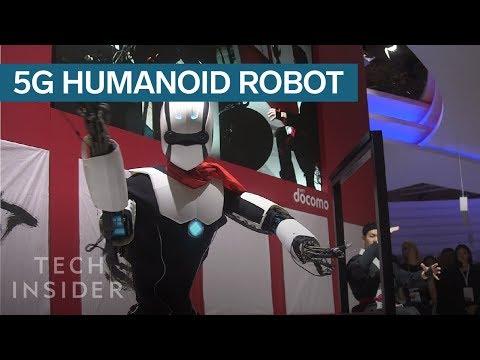 .5G 跟機器人行業有什麼關係?