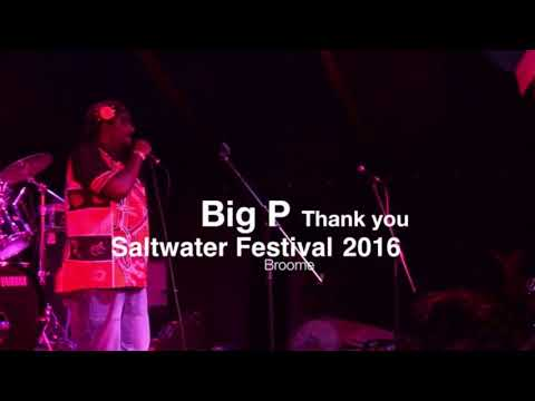 BigP performance at the (2016 Saltwater Music Festival) in Broome (Western Australia).