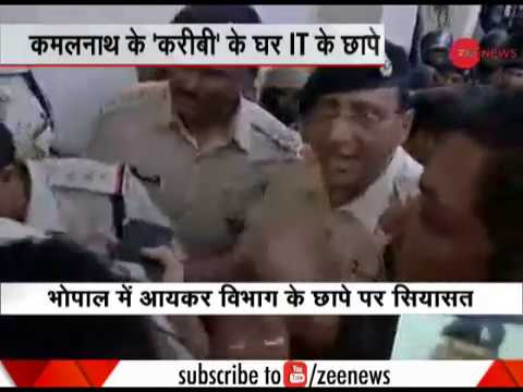 CRPF personnel and M.P Police clash over IT Raid in Bhopal