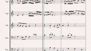 Wedding Canon - Festive Concert Piece - Brass Quintet
