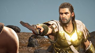 Assassin's Creed Odyssey - Deimos Final Boss Fight & Ending (Alexios Boss) Bad Family Ending PS4 Pro