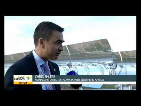 Chris Ehlers on Concentrated Solar Power Plant in N Cape