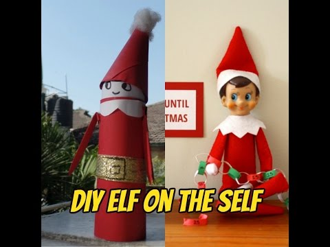 DIY Elf Of The Self Christmas Decoration | DIY Elf On The Shelf With Household Items