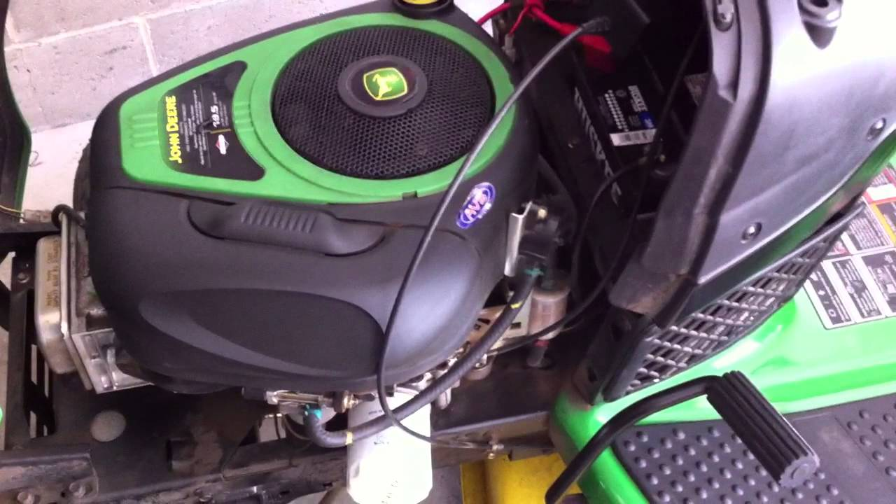 Replacing your oil & fuel filter on a John Deere 100 seriers cheaper brands that will fit  YouTube