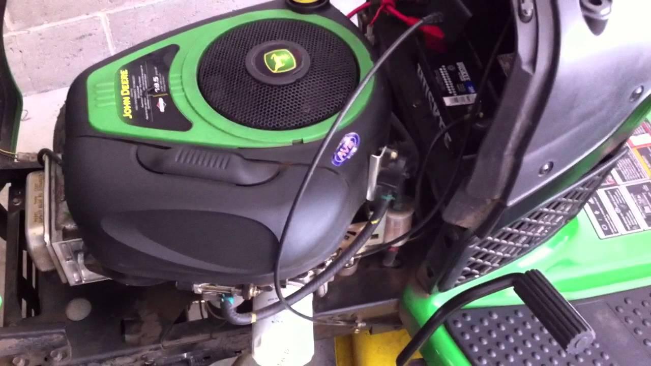 John Deere Riding Mower Wiring Diagram Replacing Your Oil Amp Fuel Filter On A John Deere 100