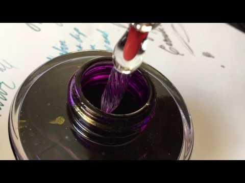 Inky Fun with J Herbin's Glass Dip Pen