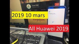 New Method 2019 10 mars TalkBack 'app not installed' All Huawei Remove  Google Account Unlock FRP