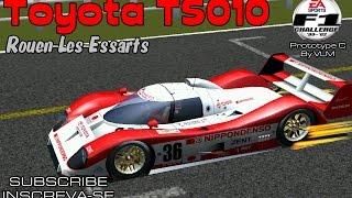 [F1C] Toyota Team Toms TS010 @Rouen with Eddie Irvine   Mod Prototype C By VLM