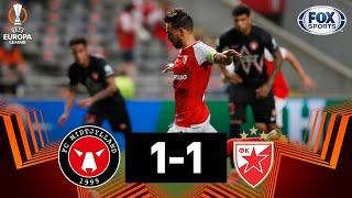 Cuando el poste juega a tu favor: Midtjylland 11 Estrella Roja