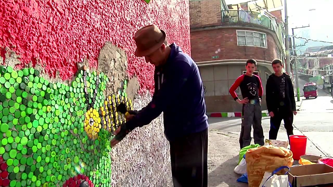 Murales Con Tapas Santa Fe Youtube