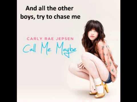 Call Me Maybe - Carly Rae Jepsen LYRICS + Download mp3