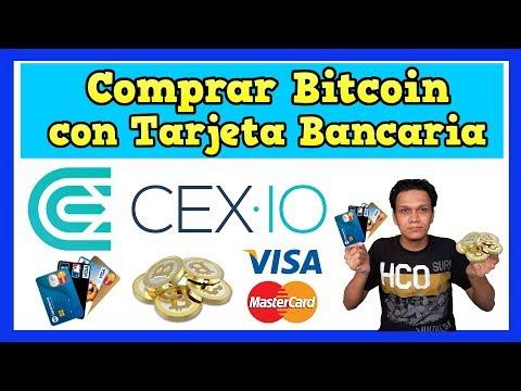 Comprar Bitcoin y Criptomonedas con la tarjeta de débito o crédito en la plataforma de CEXIO