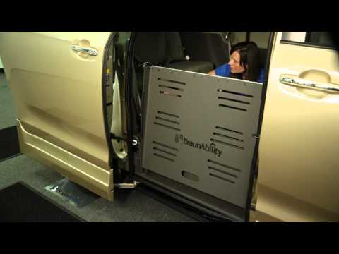 BraunAbility® Manual Override System