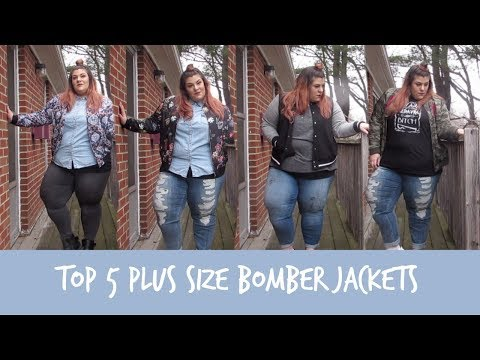 Top 5 Plus Size Bomber Jackets