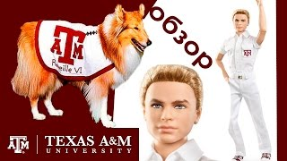 Коллекционная кукла Кен Черлидер Техаского Университета / Обзор