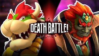 Bowser VS Ganon (Mario VS Zelda) | DEATH BATTLE!