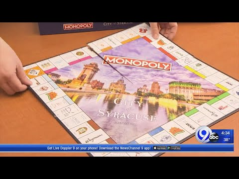 Limited Edition Syracuse Monopoly