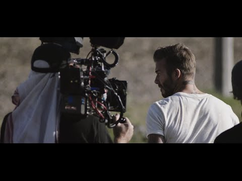 The Making of Outlaws, starring David Beckham, Katherine Waterston, Cathy Moriarty and Harvey Keitel