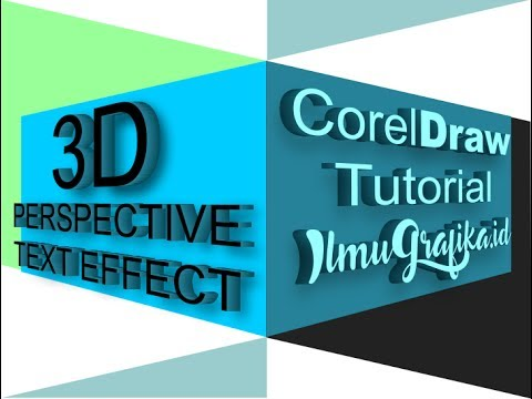 Create 3D Perspective Text in 2 Minutes in CorelDraw