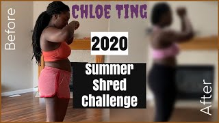 Chloe Ting 2020 Summer Shred Challenge | Results | Naomi Onlae #chloetingchallenge #chloetingresults