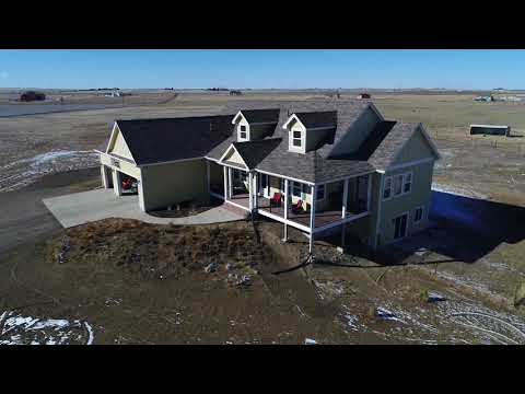 Aerial Real Estate Video Sample with Audio