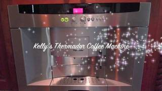Thermador Savor Coffee Machine BICM24CS - Coffee/Espresso Instructions