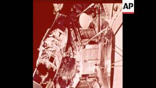 SYND 4 11 71BACKGROUND FILM IN ADVANCE OF MARINER 9