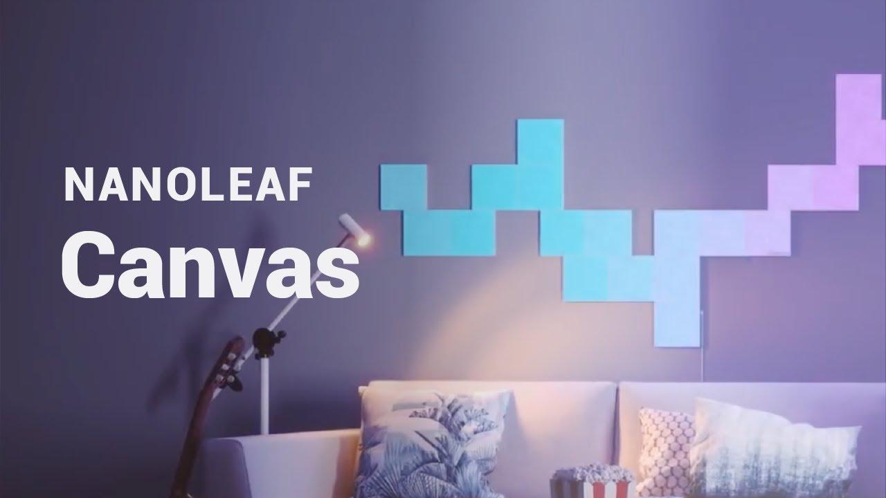 Amazon Com Nanoleaf Canvas Starter Kit Home Kitchen
