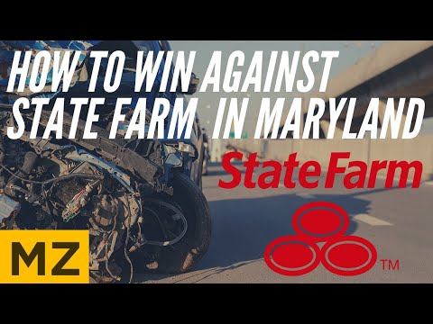 State Farm Auto Accident Claims In Maryland