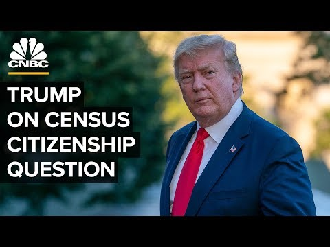 WATCH LIVE: President Trump delivers remarks on census and citizenship question – 07/11/2019