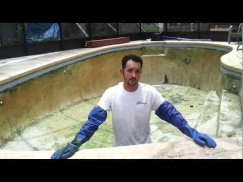 Chlorine Washing Pool Surface