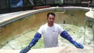 Chlorine Washing Pool Surface