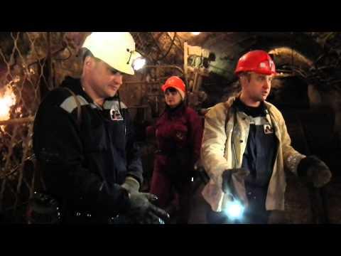 Как работают в шахте на глубине 1400 метров.