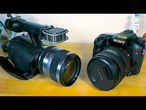 Sony NEX-VG20 - DSLR video Killer? - YouTube