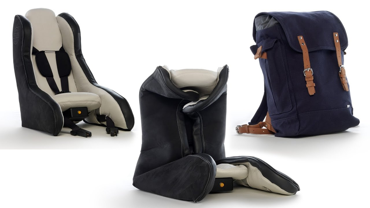 Volvo Unveils Revolutionary Inflatable Child Seat Concept ...