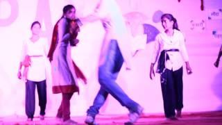 very Heart touching mime on women empowerment  by UPAY NGO students on Annual function